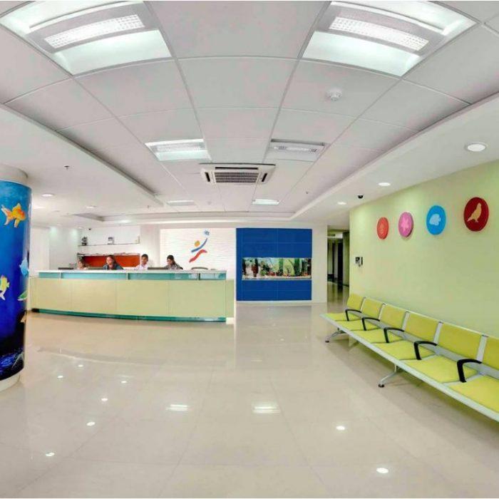 Little Stars Children's Hospital Front Office in Panjagutta